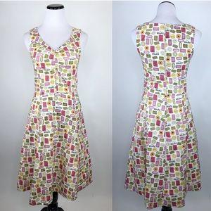 Bea & Dot ModCloth Tea Time Biscuit Retro Dress